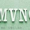 MVNOという立体的な文字