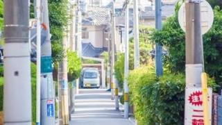 住宅街の路地