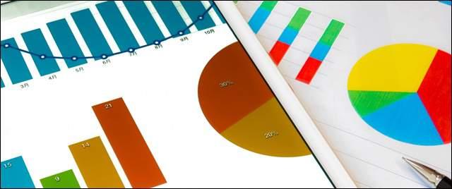 棒グラフと円グラフが複数書かれただけの資料