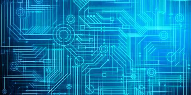 青っぽいCADで書かれた回路設計図